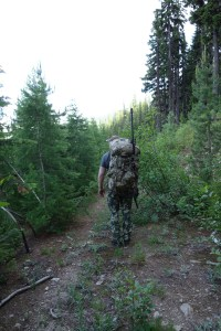 Sam Millard spring bear hunting in Idaho