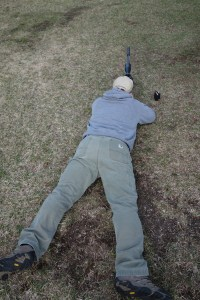 Prone Behind 260 natural point of aim short range practice