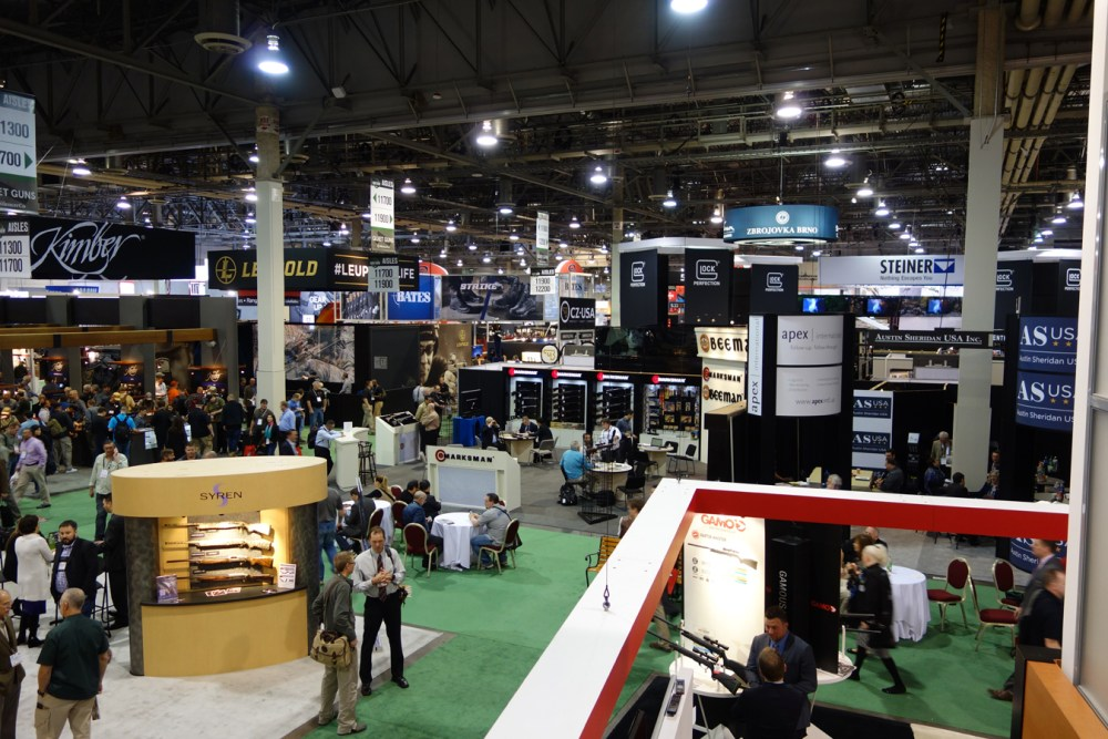 The 2016 SHOT Show floor