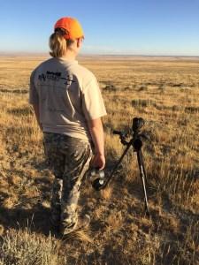 Jessica Millard in Wyoming 2015