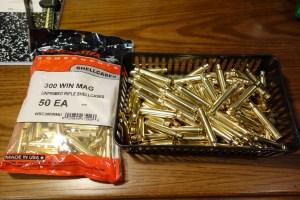 WW 300 Winchester Magnum Brass