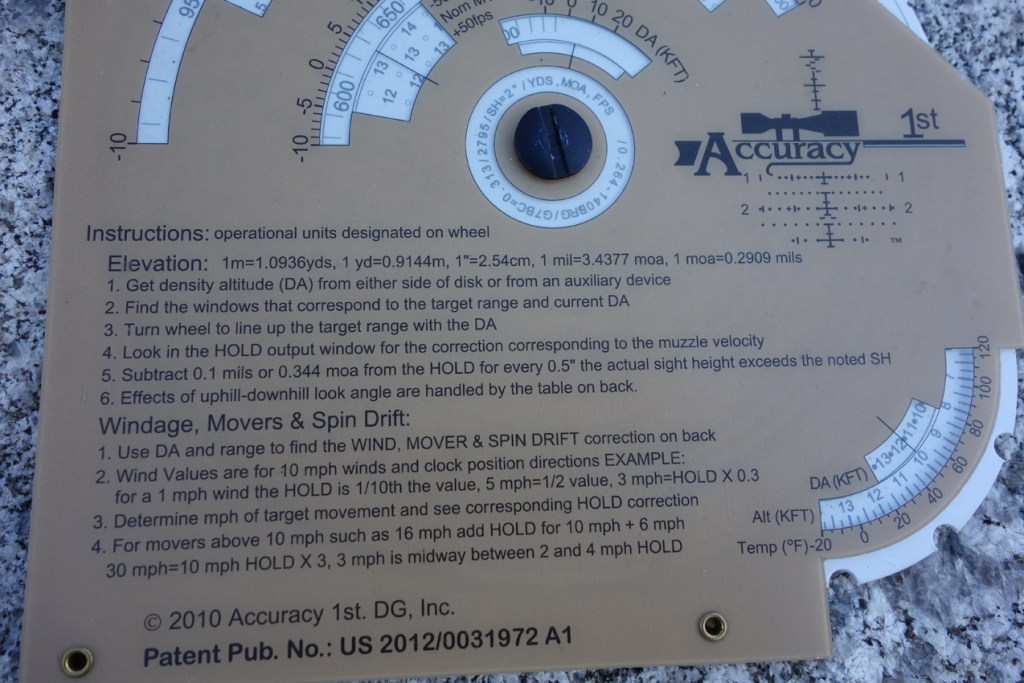 Whiz Wheel instructions