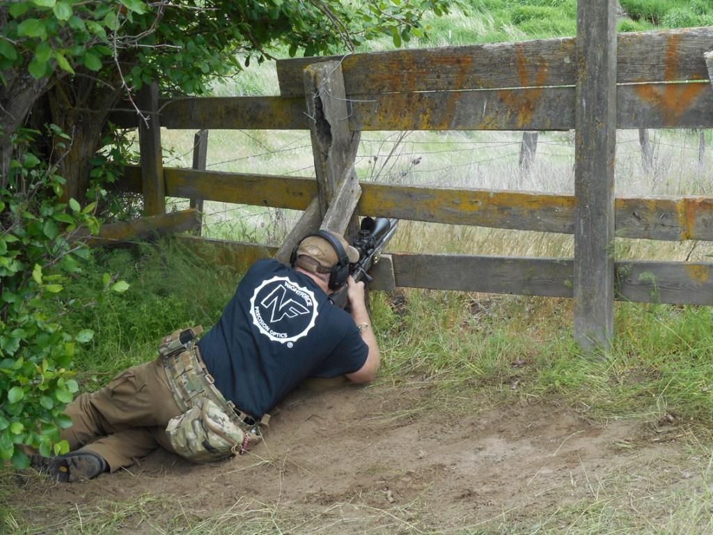 Sam Millard Shooting Rock Lake PRS Match