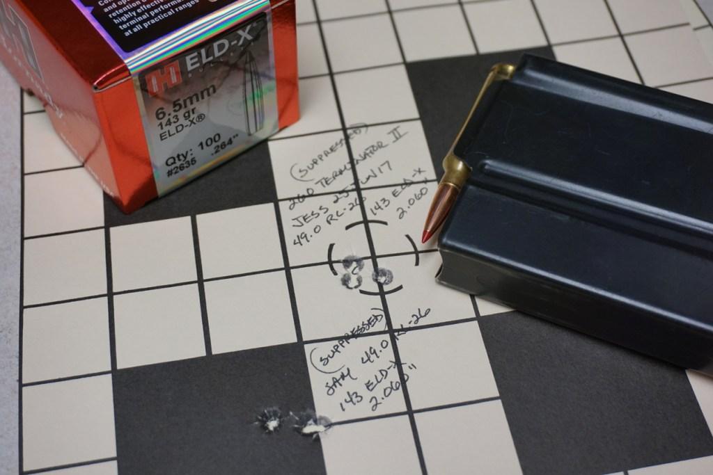 260 Terminator Target 143 ELD-X Jess & Sam