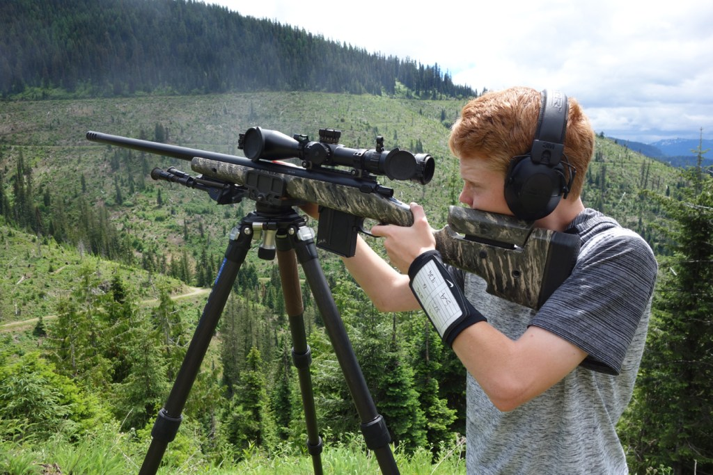 Jake Shooting 260 Comp Rifle Tripod