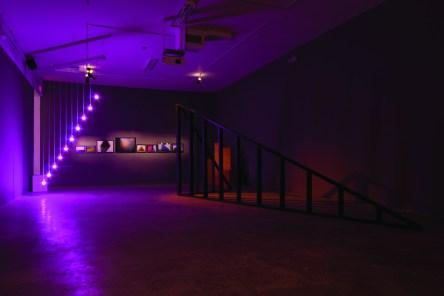 I Saw Three Cities, 2011. Dorsch Gallery (installation view)