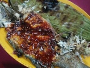 Sambal grilled grouper