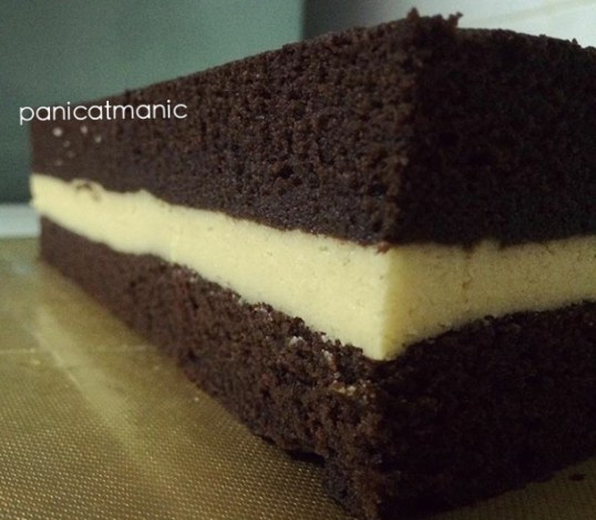 Steamed Lapis Choc Cheese by nadyslittlebakery