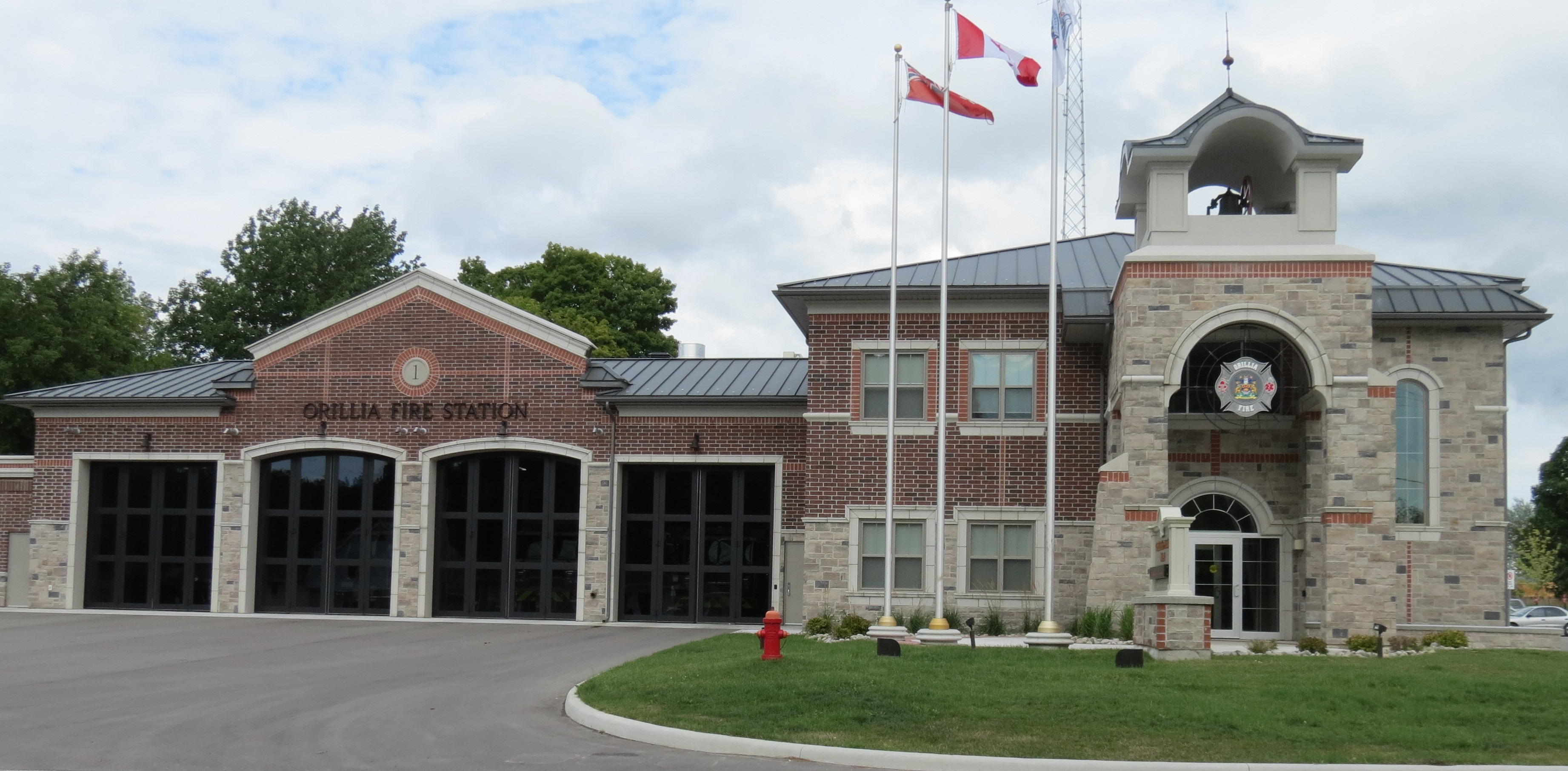 Orillia Fire Station No 1  Panici