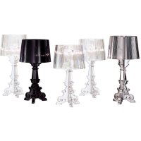 Kartell Ferruccio Laviani Bourgie Black Table Light ...