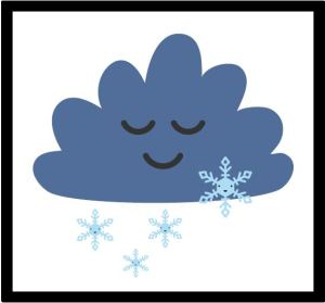 pogoda - obrazki oraz plansza