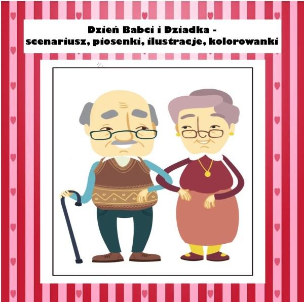 dzień babci i dziadka - scenariusz i materiały na zajęcia w przedszkolu