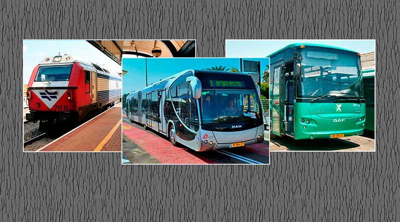 Транспорт Израиля возвращается к нормальной работе