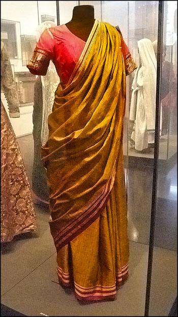 Традиционный наряд еврейской женщины из Индии
