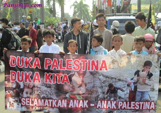 Aksi Solidaritas & Penggalangan Dana Untuk Muslim Gaza di Klaten 2