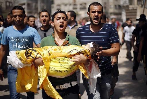 Anak-Anak Kecil Jadi Korban Pembantaian Zionis Israel 1