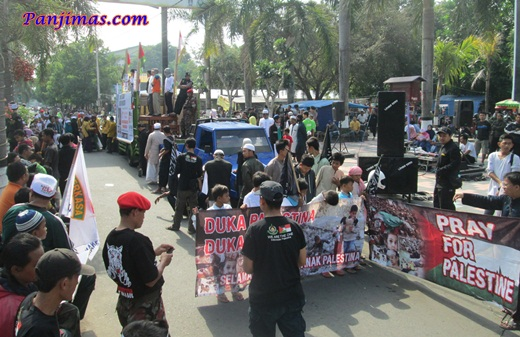Foto Aksi Solidaritas & Penggalangan Dana Untuk Muslim Gaza di Klaten 5