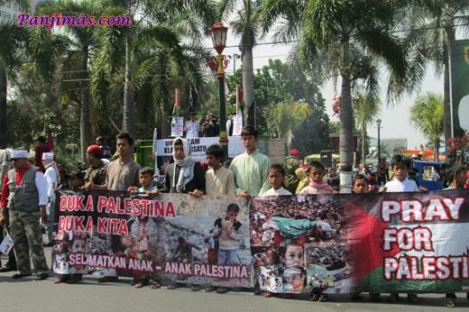 Foto Aksi Solidaritas & Penggalangan Dana Untuk Muslim Gaza di Klaten 6