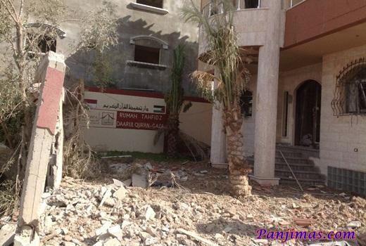 Graha DAQU Gaza di Roket Zionis Israel 1
