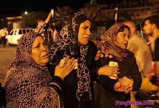 Korban Serangan Zionis Israel Saat Ramadhan 1434 H 2