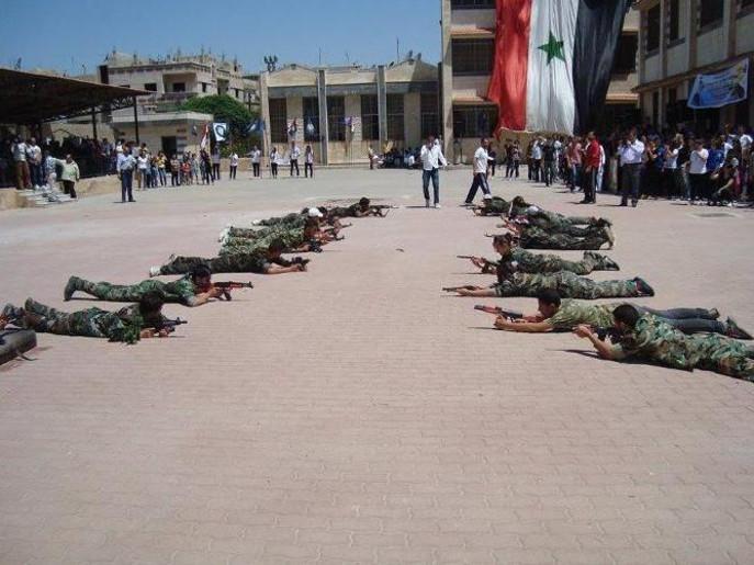 perekrutan anak-anak suriah menjadi tentara pro pemerintah 4