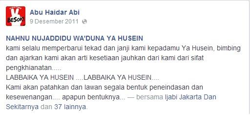 Akun FB Bahrudin IJABI 1