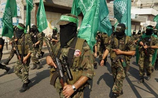 Pejuang Palestina di Gaza