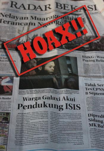 radar bekasi beritakan ISIS HOAX