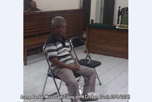 Aceng Bandar Miras di Cirebon