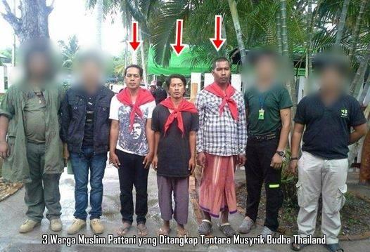 Warga Muslim Pattani Ditangkap Tentara Budha Thailand