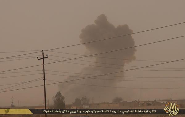 Amaliyah Istisyhadiyah Hanzhalah, meledakkan kendaraan berisi bom di pangkalan militer Spiecher yang membunuh dan melukai pulukan tentara Syiah Shafawi
