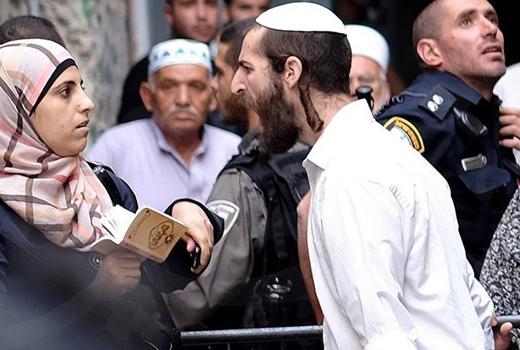 Rabi Zionis Yahudi kepung Al-Aqsha