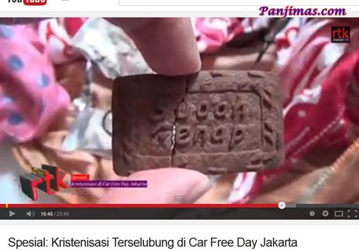 Kristenisasi Terselubung di CFD Jakarta Sudah Genap