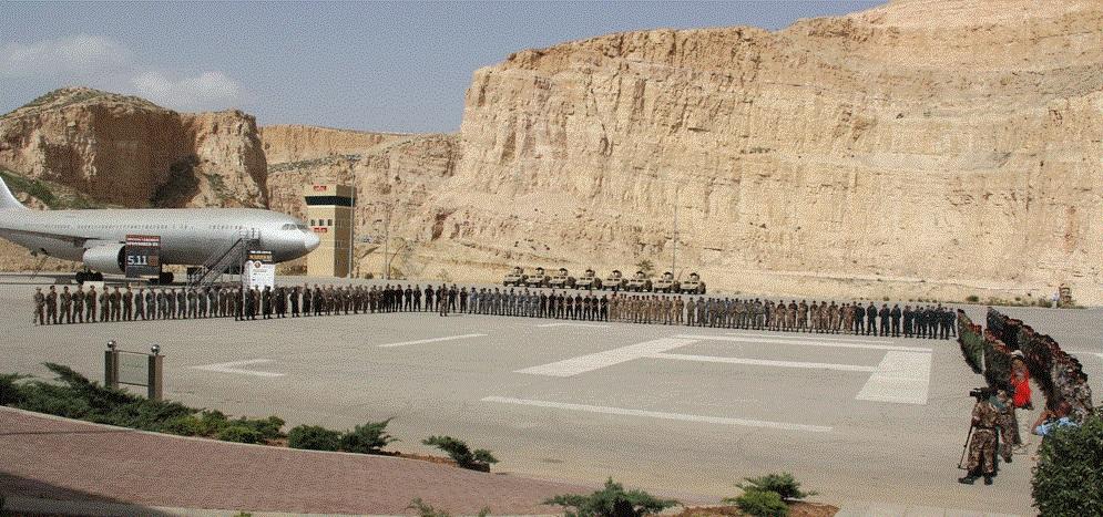 Ini Pangkalan Udara Salibis AS di Yordania dalam Misi Perang Melawan Mujahidin