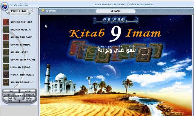 Kitab Hadits 9 Imam Lidwa Pusaka