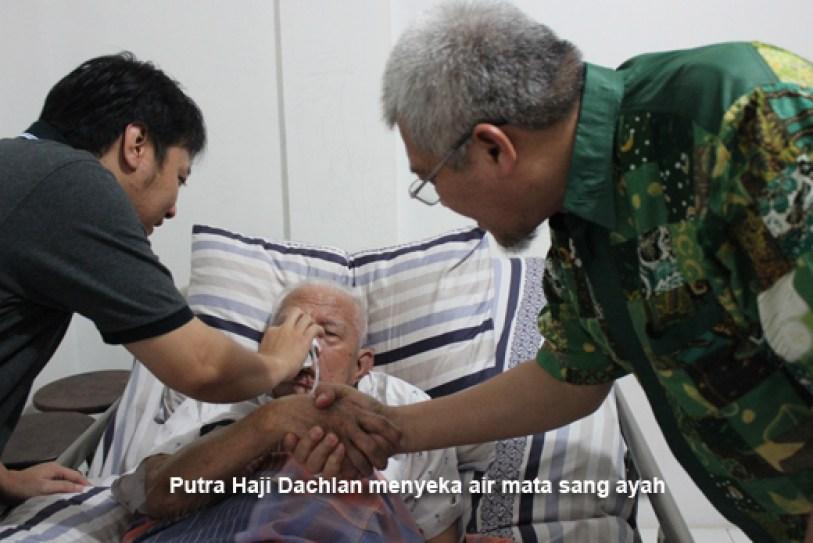 MS Kaban kunjungi Haji Dachlan