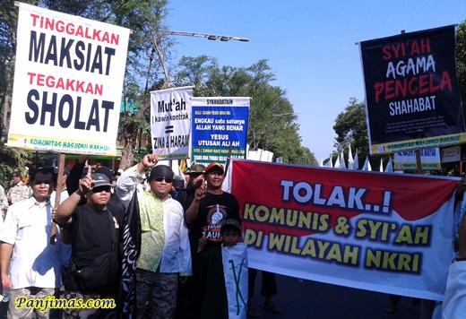 Nikah Mut'ah = Zina Haram dari KMM saat Parade Tauhid