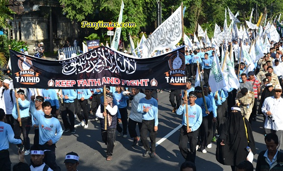 Parade Tauhid di Solo 22