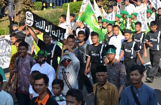 Ponpes Takmirul Islam Solo dalam Parade Tauhid