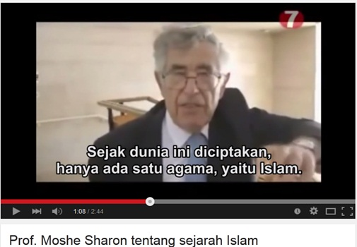 Seorang Profesor Yahudi Tegaskan Hanya Ada Satu Agama Didunia Ini Yaitu Islam
