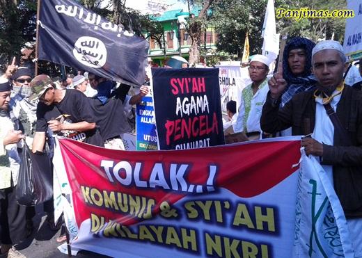 Tolak Syi'ah & Komunis dari NKRI dalam Parade Tauhid dari KMM