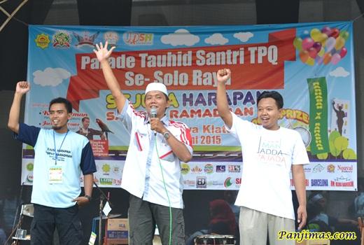 Panitia Parade Tauhid Santri TPA-TPQ se-Kabupaten Klaten