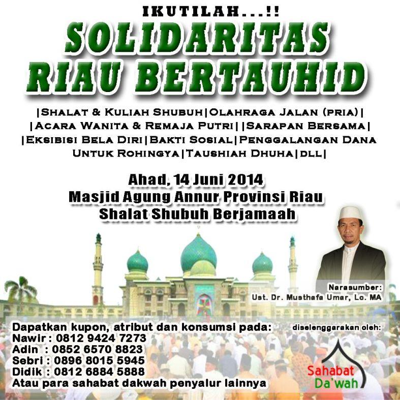 Solidaritas Riau Bertauhid