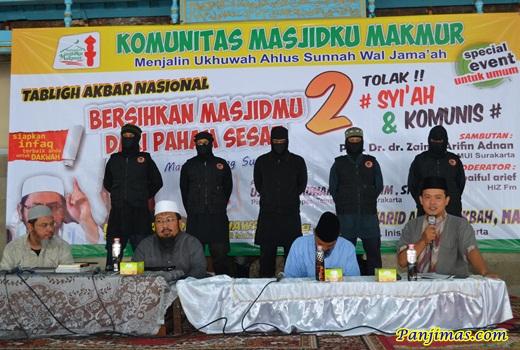 Tabligh Akbar Bersihkan Masjidmu dari Paham Sesat Komunis & Syi'ah di Solo 1