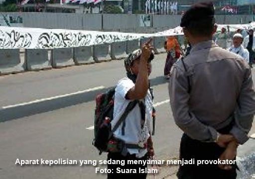 Siap 86! Polisi Kristen Tertangkap Basah Menyusup Jadi Provokator Parade Tauhid
