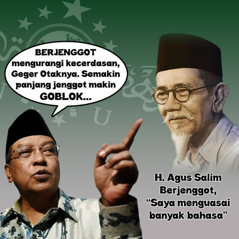 Agus Salim Berjenggot