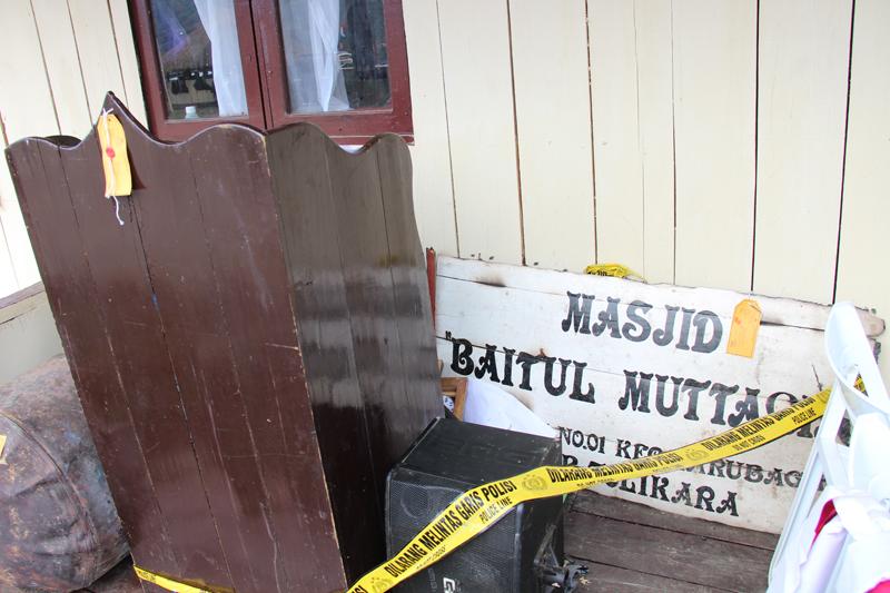 Perangkat Masjid Baitul Muttaqin Tolikara