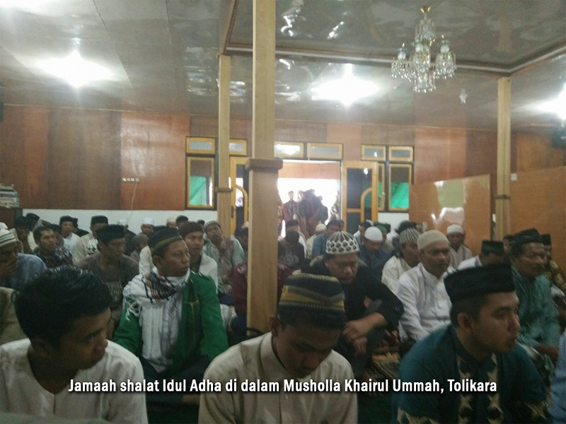 Suasana Idul Adha di Tolikara 2