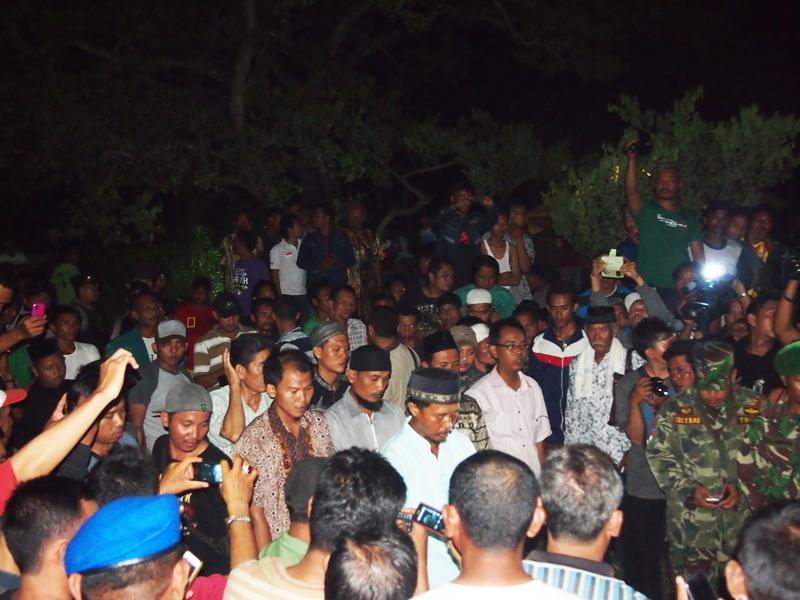 Pemakaman jenazah Afif dijaga ketat aparat TNI/Polri