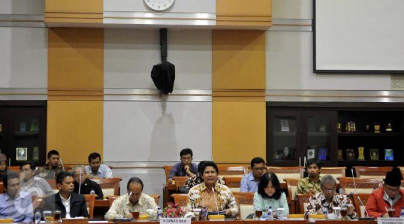 Komisi III DPR RI bersama Komnas HAM, Muhammadiyah dan KontraS menggelar RDPU terkait kematian Siyono